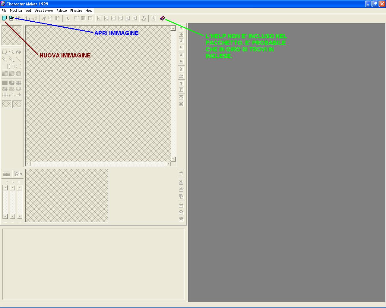 Character Maker 1999 [ITA] - Progetti (mobile o con altri
